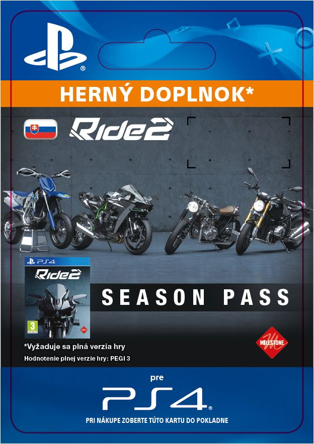 ESD SK PS4 - Ride 2 Season Pass