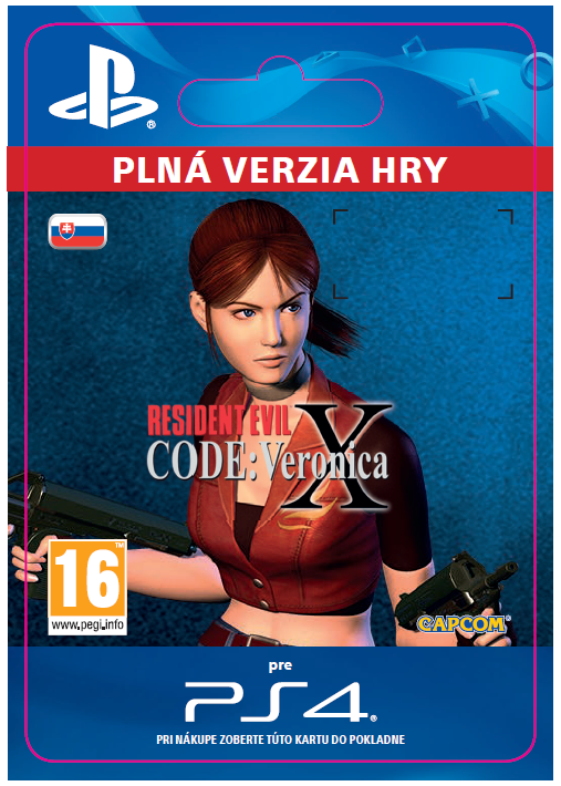ESD SK PS4 - Resident Evil Code: Veronica X