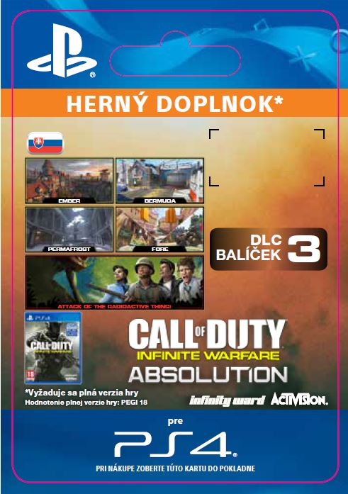 ESD SK PS4 - Call of Duty®: Infinite Warfare - DLC 3: Absolution