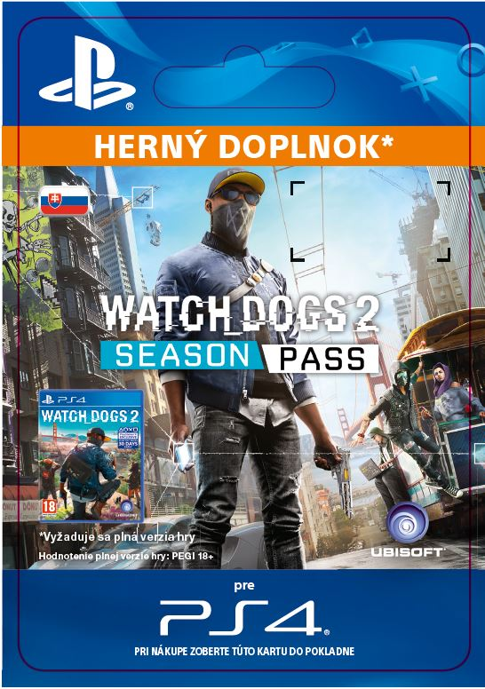 ESD SK PS4 - Watch Dogs 2 - Season Pass