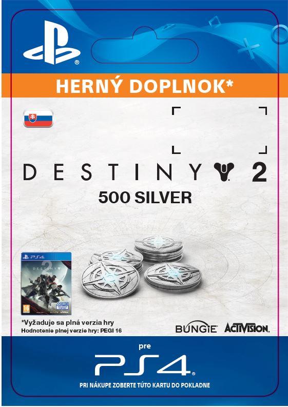 ESD SK PS4 - 500 Destiny 2 Silver