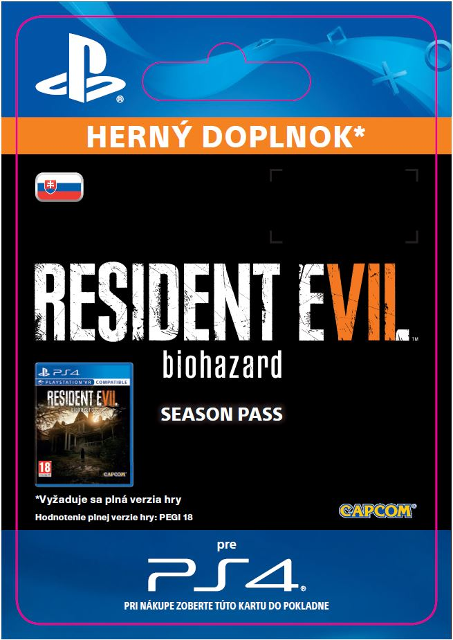 ESD SK PS4 - RESIDENT EVIL 7 biohazard Season Pass