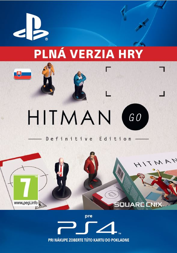 ESD SK PS4 - Hitman GO: Definitive Edition