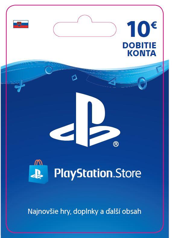 ESD SK - PS Store el. peněženka - 10 EUR