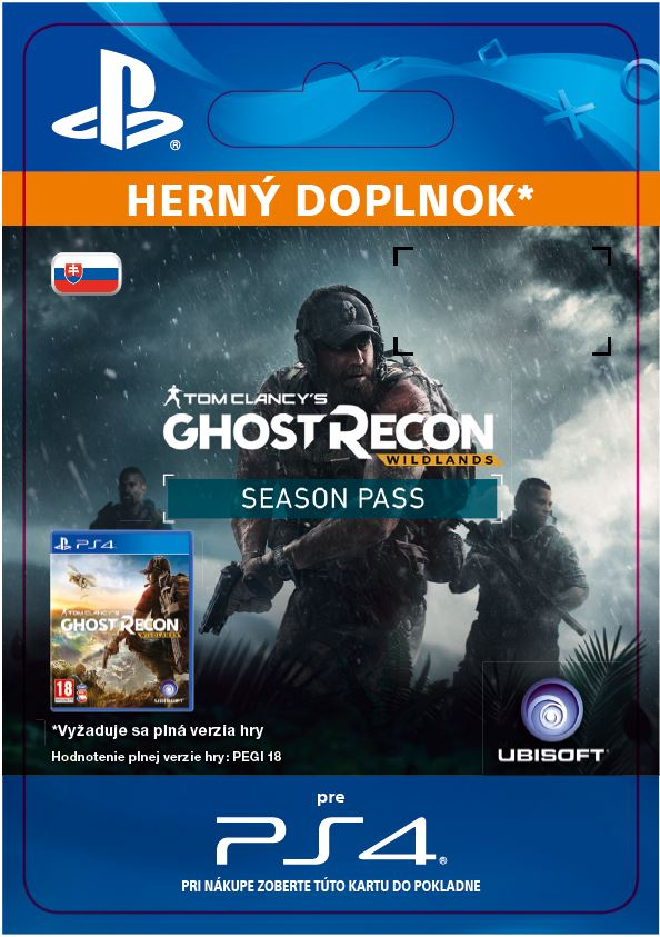 ESD SK PS4 - Tom Clancy's Ghost Recon Wildlands - Season Pass