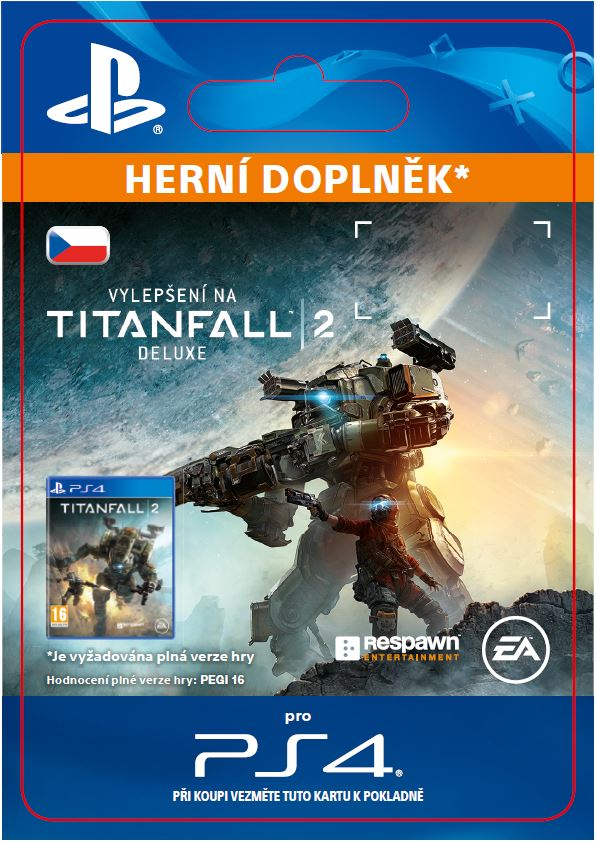 ESD CZ PS4 - Titanfall 2 Deluxe Edition Content
