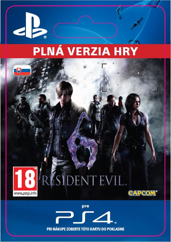 ESD SK PS4 - Resident Evil 6