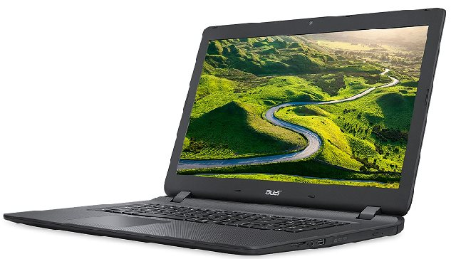 "Acer Aspire ES 17 (ES1-732-P9C0) Pentium N4200/2GB+4GB/1000GB/DWD-RW/HD Graphics/17,3"" HD/W10 Home/Black"