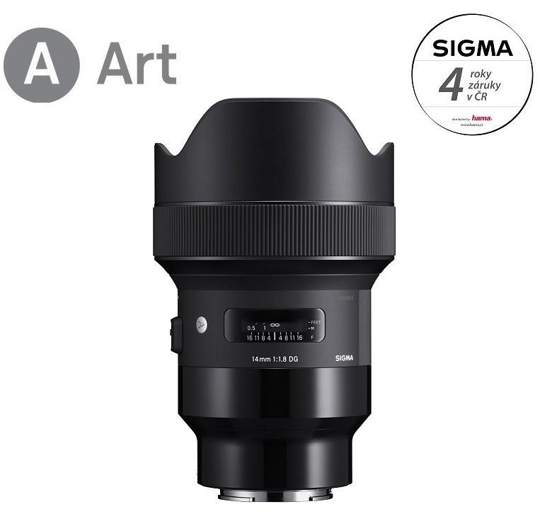 SIGMA 14/1.8 DG HSM ART Sony E-mount
