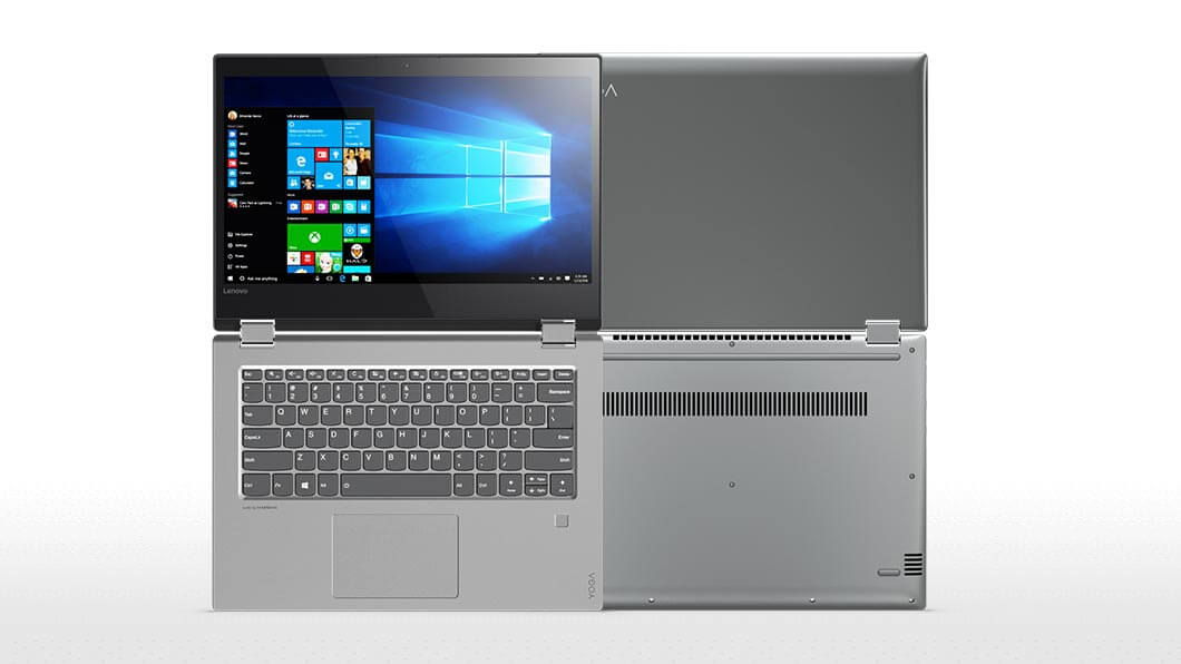 "Lenovo YOGA 520-14IKB i5-7200U 3,10GHz/8GB/SSD 256GB/14"" FHD/IPS/AG/multitouch/GeForce 2GB/FPR/WIN10 šedá 80X8005FCK"