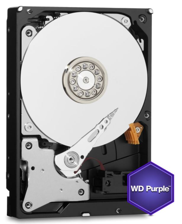 HDD 8TB WD81PURZ Purple 256MB SATAIII