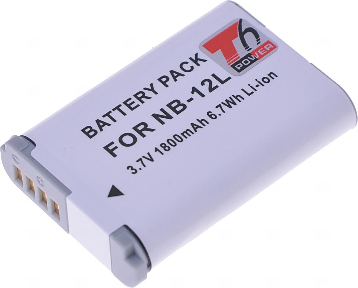 Baterie T6 power Canon NB-12L, 1800mAh, 6,7Wh