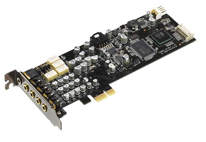 ASUS XONAR DX/XD PCI-E EAX2.0, 7.1CH, Low Profile, Retail