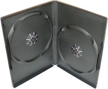 COVER IT Krabička na 2x DVD - černá - slim 9mm