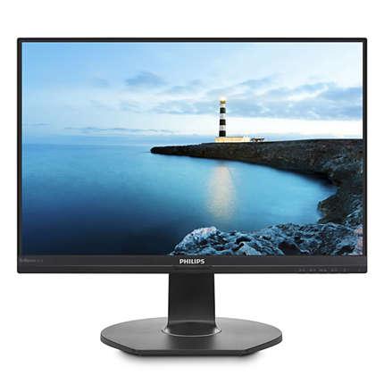 Monitor Philips 241B7QUPEB/00 23,8'', panel IPS; FullHD; speakers