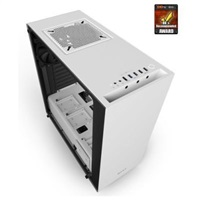 NZXT PC skříň S340 Elite matně bílá