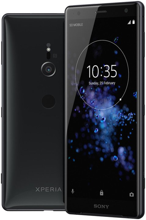 Sony Xperia XZ2 DS H8266 Black