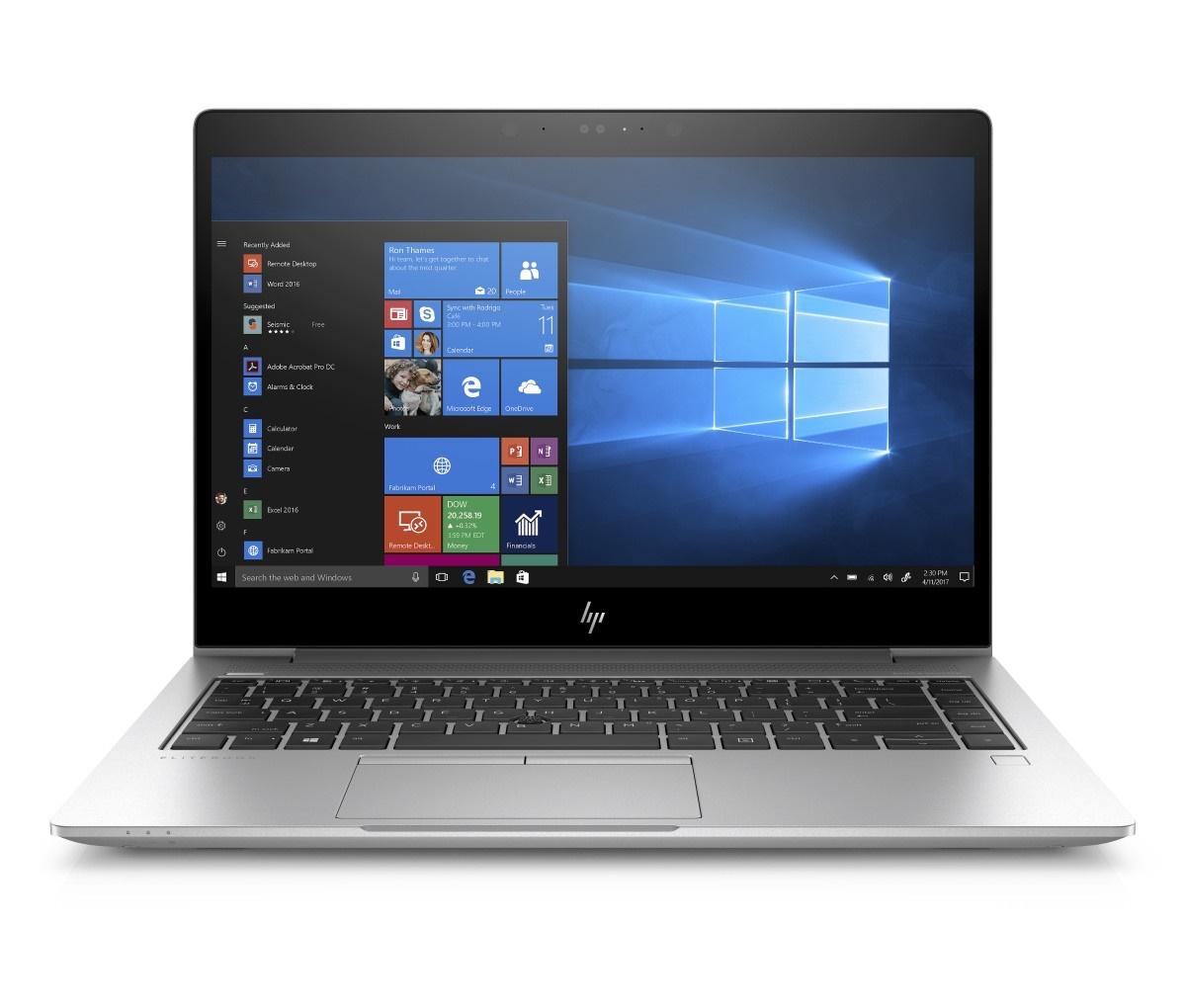 HP EliteBook 840 G5 i7-8550U 14 FHD UWVA IR CAM, 16GB, 512GB SSD PCIe NVMe, ac, BT, WWAN, FpR, backlit kbd, Win10Pro