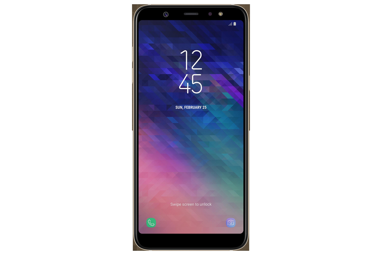 Samsung Galaxy A6 Plus (A605), 3GB/32GB, zlatá