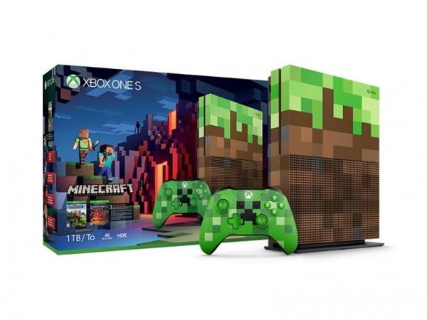 XBOX ONE S - 1TB Minecraft Limited Edition Bundle