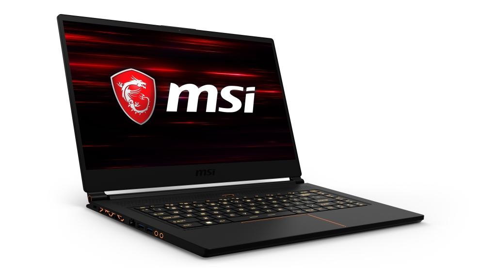 MSI GS65 8RE-072CZ Stealth Thin 15,6 FHD 144hz/i7-8750H/GTX1060 6GB/16GB/512GB+ volný slot/WIN10