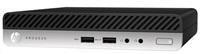 HP ProDesk 400G3 DM G4560T, 1x4GB, HDD 500GB, Intel HD, usb kláv. a myš, 65W externí, vertikální stojánek, Win10Pro