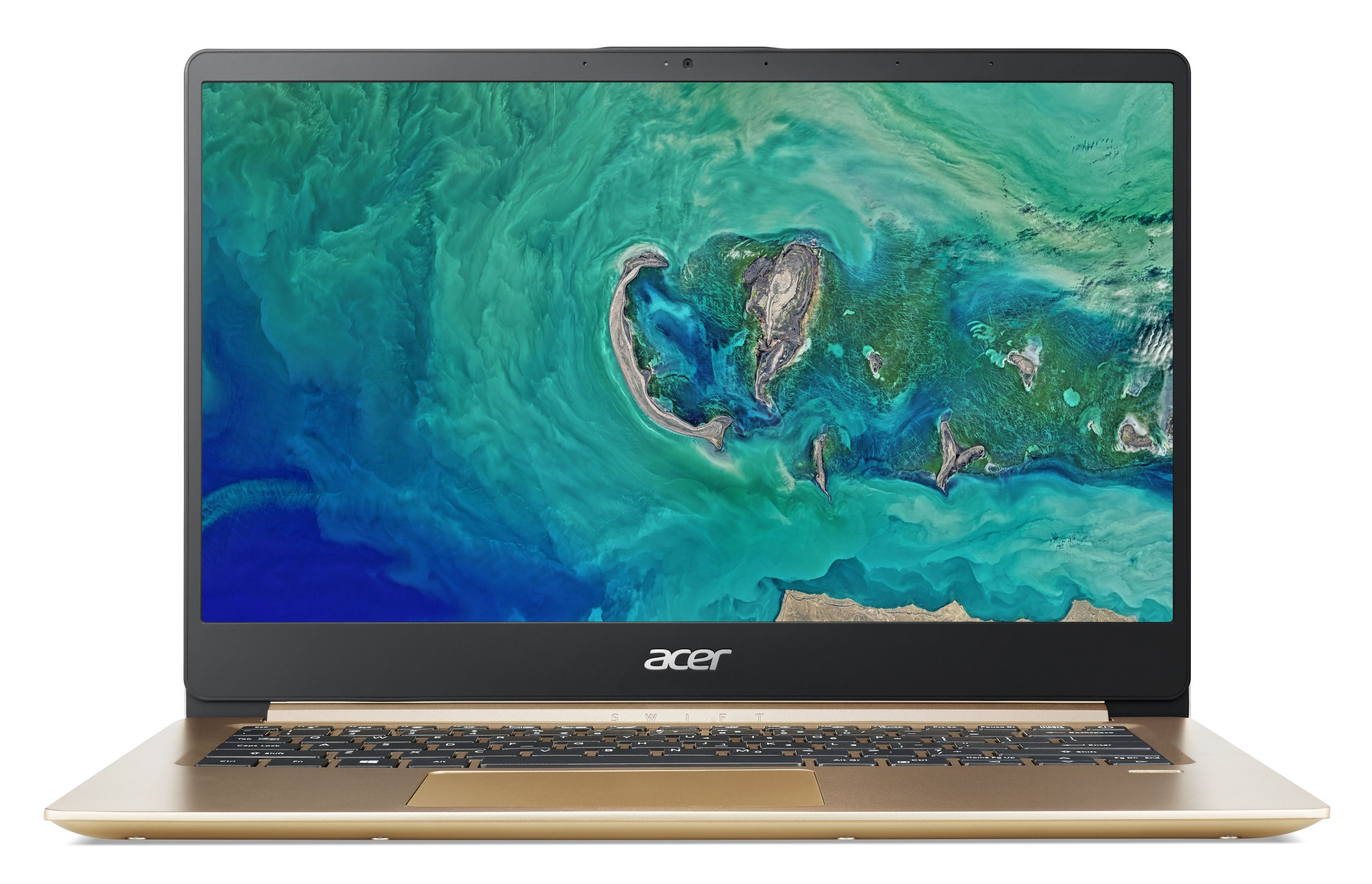 "Acer Swift 1 (SF114-32-P13K) Pentium N5000/4GB+N/128GB SSD M.2+N/A/HD Graphics/14"" FHD matný/BT/W10 Home/Gold"