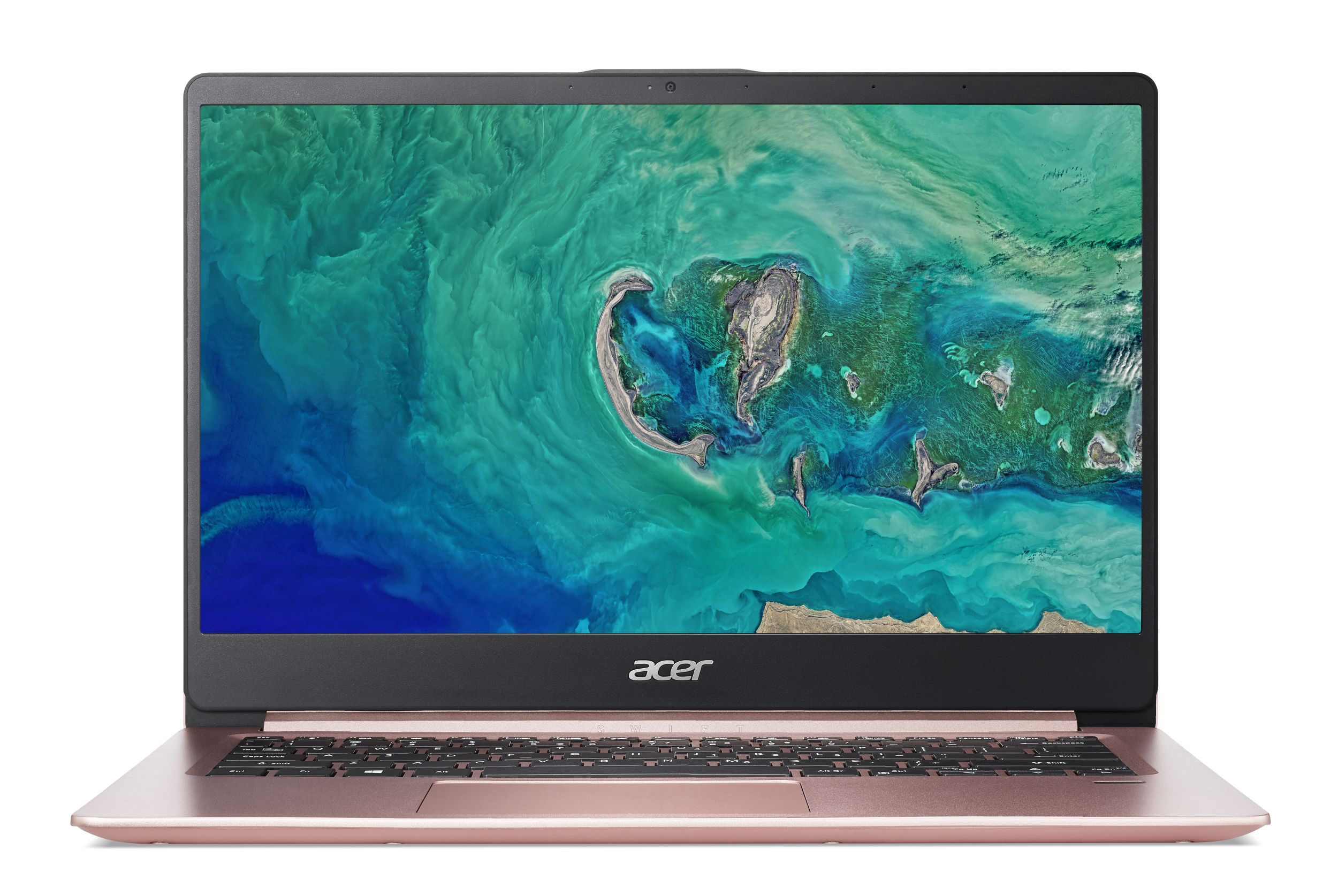 "Acer Swift 1(SF114-32-P6JZ) Pentium N5000/4GB+N/128GB SSD M.2+N/A/HD Graphics/14"" FHD matný/BT/W10 Home/Pink"