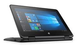 "HP ProBook x360 11 G1, Pentium N4200, 11.6"" HD Touch, 4GB, 128GB, ac, BT, Smoke Gray, W10"