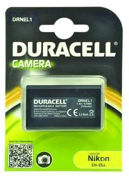 DURACELL Baterie - DRNEL1 pro Nikon NP-800, černá, 750 mAh, 7.4 V