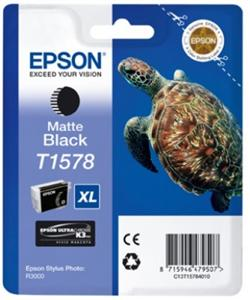 EPSON T1578 Matte black Cartridge R3000