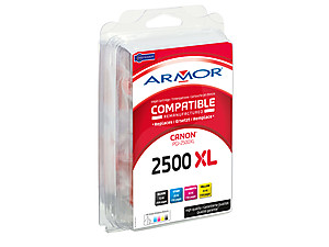 Armor multipack pro Canon (PGI2500XL) BCMY