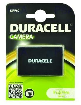 DURACELL Baterie - DRF60 pro Fujifilm LI-20B, černá, 1150 mAh, 3.7 V