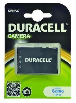 DURACELL Baterie - DRNP20 pro Casio NP-20, černá, 700 mAh, 3.7 V