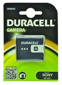 DURACELL Baterie - DR9953 pro Sony NP-BN1, černá, 630 mAh, 3.7 V