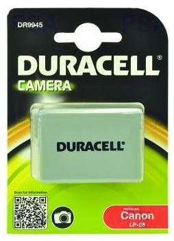 DURACELL Baterie - DR9945 pro Canon LP-E8, černá, 1020 mAh, 7.4V