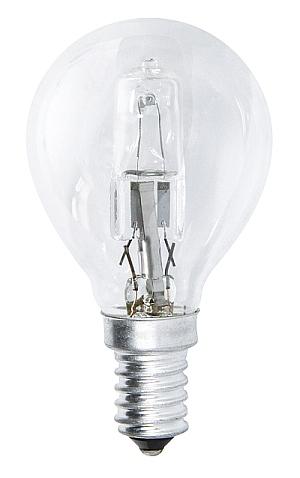 Emos Halogenová žárovka MINI GLOBE, 42W/55W E14, teplá bílá, 630 lm, Classic C