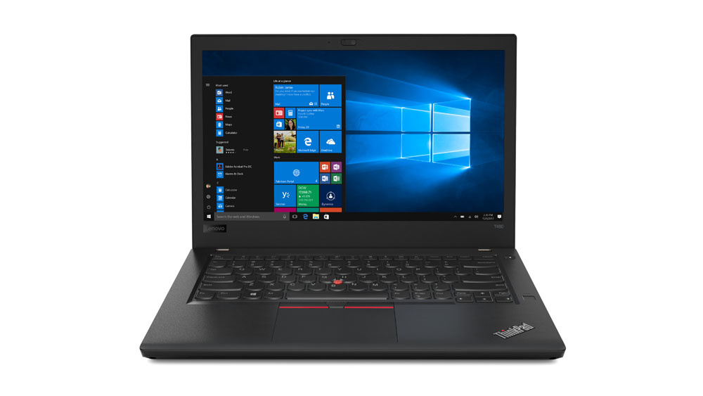 "Lenovo ThinkPad T480 i7-8550U/16GB/512GB SSD/GeForce2GB/14""WQHD IPS/4G/Win10PRO/Black"