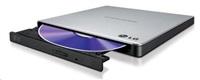 LG GP57ES40 Externí Slim DVD vypalovací mechanika stříbrná