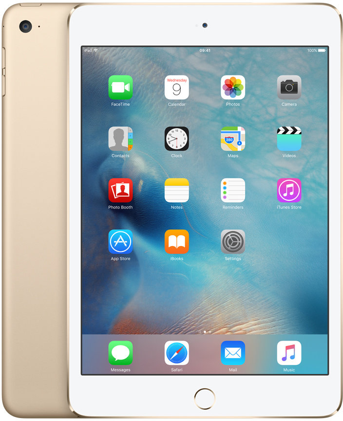 iPad mini 4 Wi-Fi 128GB Gold