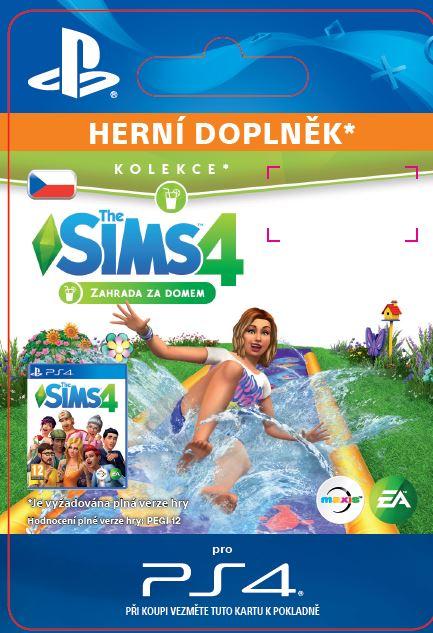 ESD CZ PS4 - The Sims™ 4 Backyard Stuff