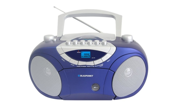 Rádiomagnetofon BLAUPUNKT BB15BL FM PLL CD/MP3/USB/AUX, kazety