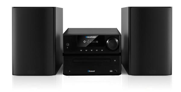 Micro systém BLAUPUNKT MS35BT FM/CD/MP3/USB/Bluetooth
