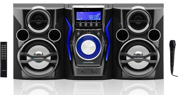 Mini systém BLAUPUNKT MC60BT FM/CD/MP3/USB/karaoke, bluetooth
