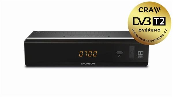 THT712 HD DVB-T2 HEVC PŘIJÍMAČ THOMSON