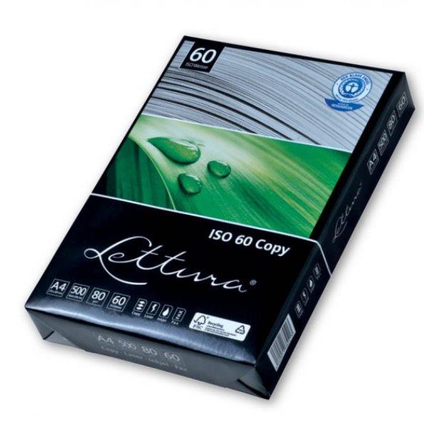Recyklovaný papír LETTURA A4, 80g/m2, 1x500listů