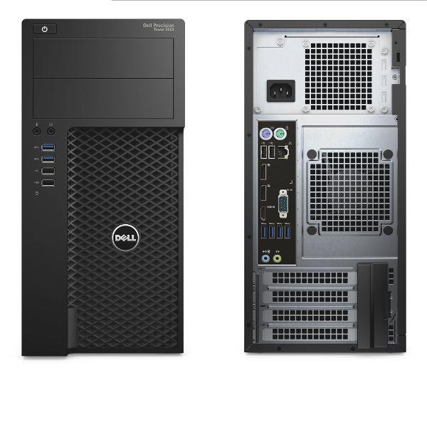 DELL Precision T3620 Xeon E3-1240 v6/16GB/256 SSD+1TB/4GB Quadro P1000/DVD-RW/Win 10 Pro 64bit/3Yr NBD