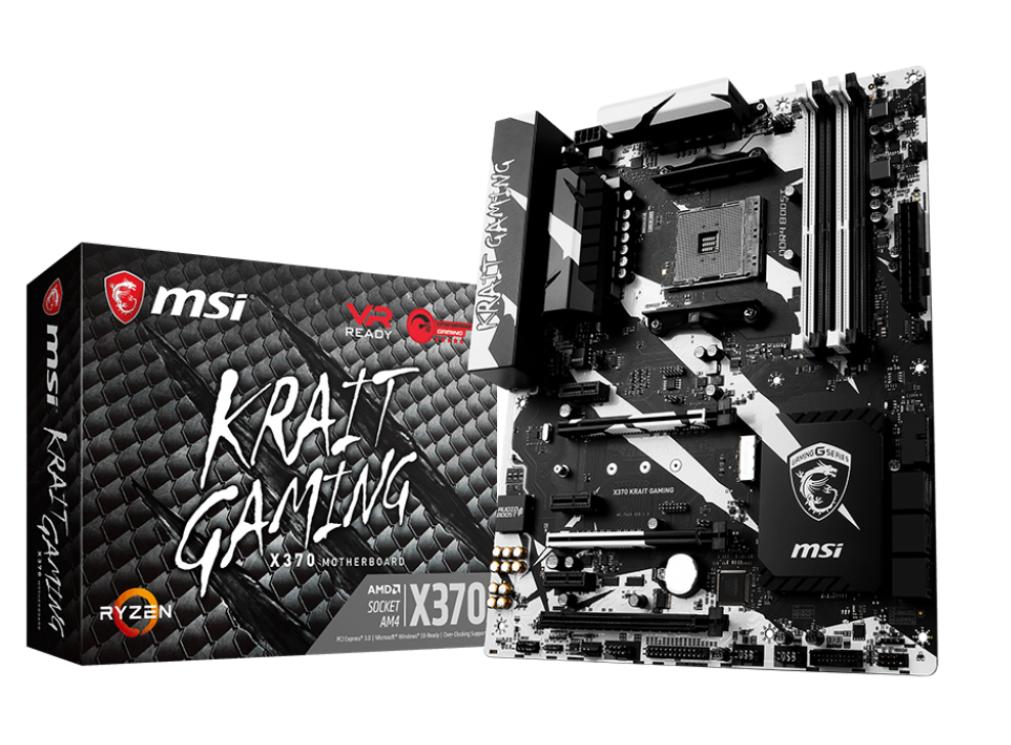 MSI X370 KRAIT GAMING/Socket AM4/DDR4/USB3.1/M.2/HDMI/DVI-D/ATX