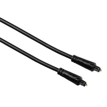 Hama optický audio kabel ODT, Toslink vidlice-vidlice, 3*, 0,75 m