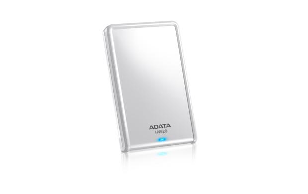 """ADATA HV620 1TB Ext. 2.5"""" HDD bílý"""